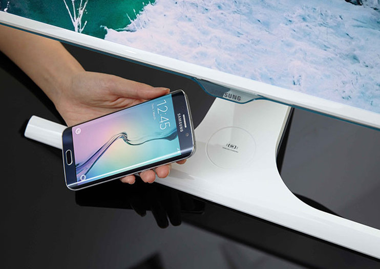 This monitor will wirelessly charge your smartphone, say goodbye to wire clutter