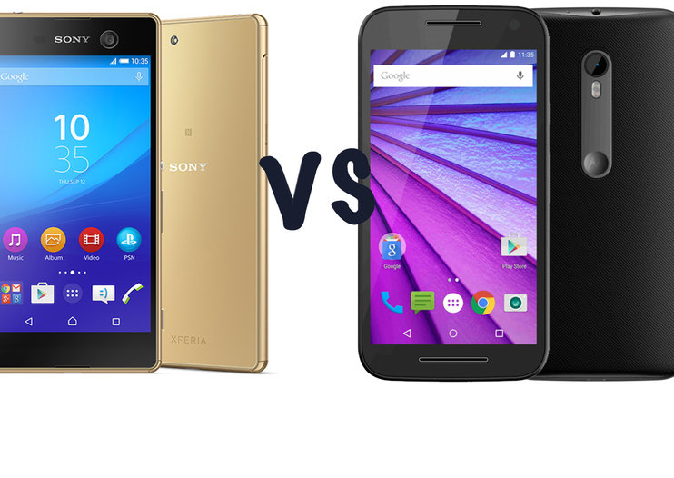 Sony Xperia M5 vs Motorola Moto G (third-gen): What's the difference?