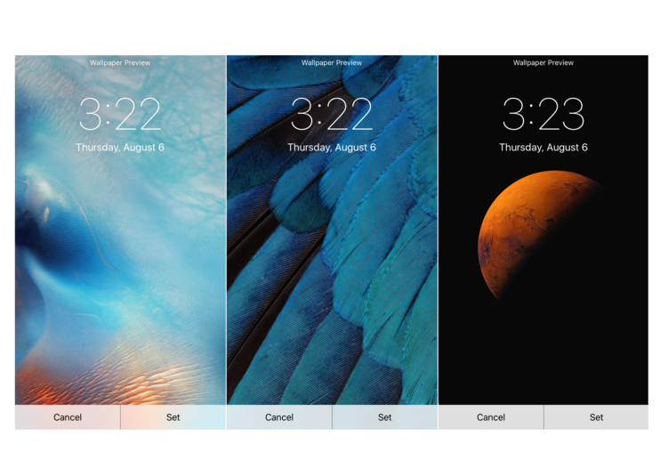 iOS 9 wallpapers: Make your iPhone look brand new