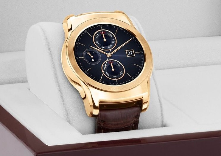 LG Watch Urbane Luxe: You can now get LG's watch in 23-carat gold