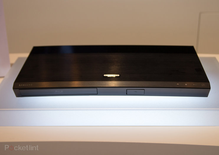 This is Samsung's Ultra HD Blu-ray Player