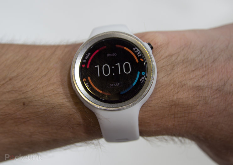 Moto 360 Sport is an athletic lean on Moto's new smartwatch