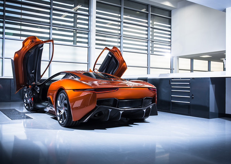 Spectre Bond cars, in photos: Jaguar CX75, Aston Martin DB10, Range Rover Sport SVR and Land Rover Defender