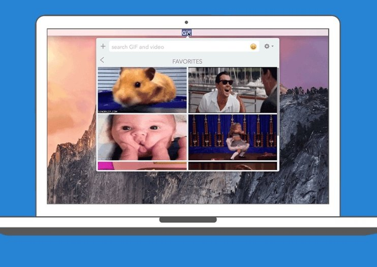 This new Riffsy app lets you easily find and share GIFs from a Mac