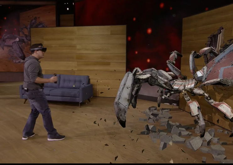 Microsoft HoloLens gets $3,000 price and Project X-Ray mixed reality game revealed