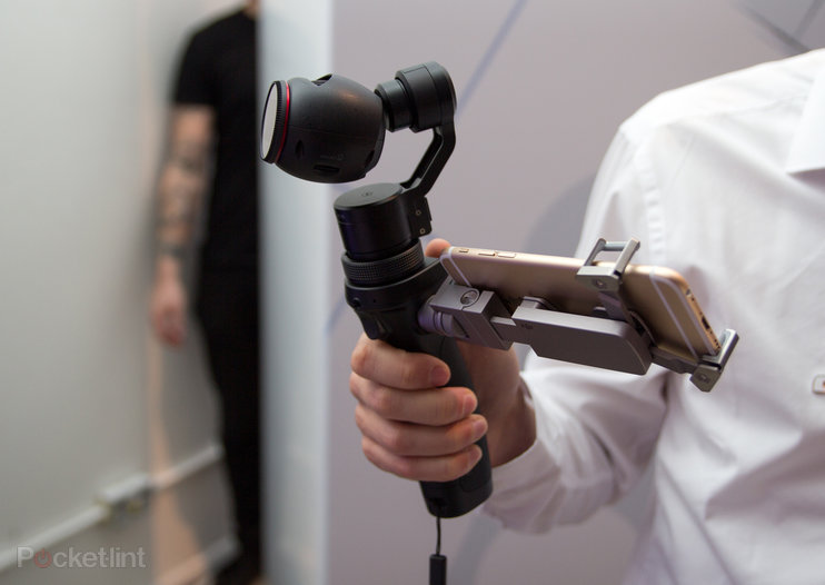 DJI Osmo: Say goodbye to shaky 4K video (hands-on)