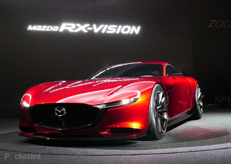 Mazda RX-Vision: Stunning sports concept steals Tokyo show, reintroduces rotary engine