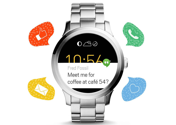 Fossil Q Founder adds Android Wear to classic looks, out today