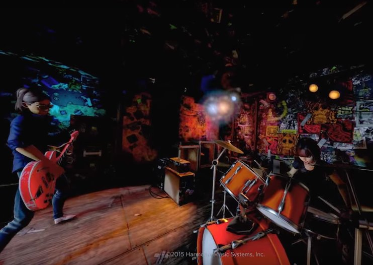 Rock Band... in virtual reality... on Oculus Rift: Take our money!