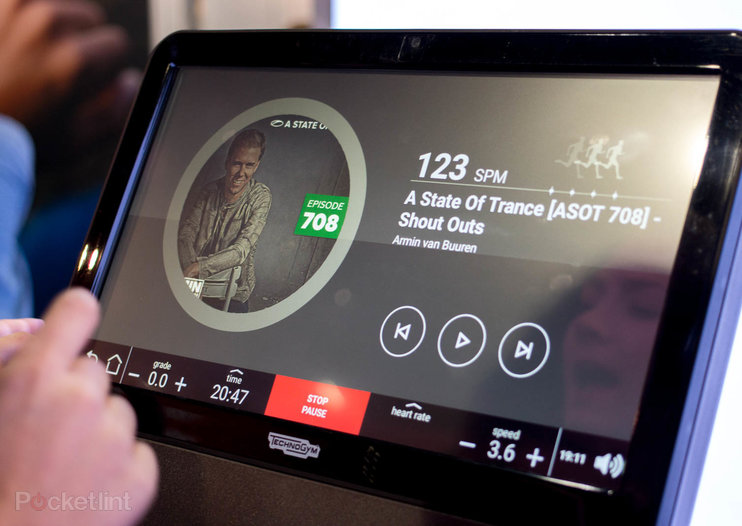 Music-based treadmill changes tune as you run