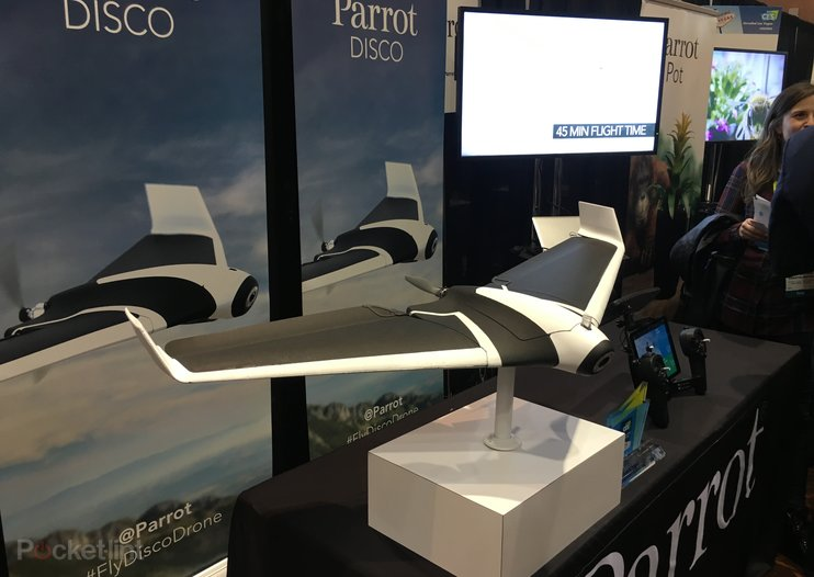 Parrot Disco drone spreads its wings and takes to the skies at CES