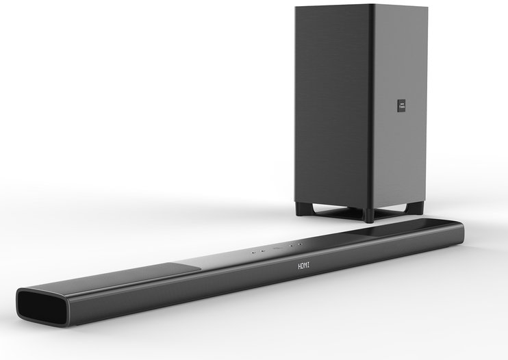 Philips Fidelio Soundbar crams Dolby Atmos overhead audio into one unit