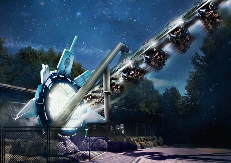Could Alton Towers' physical and VR Galactica rollercoaster be the scariest ride ever?