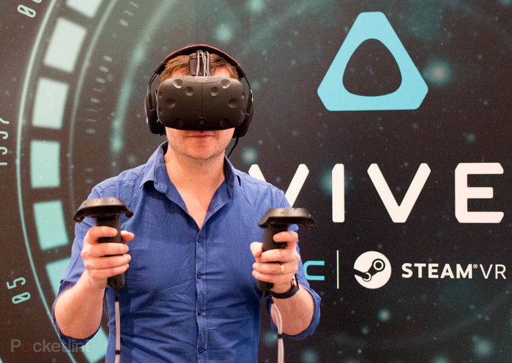 HTC Vive preview: An experience that's out of this world