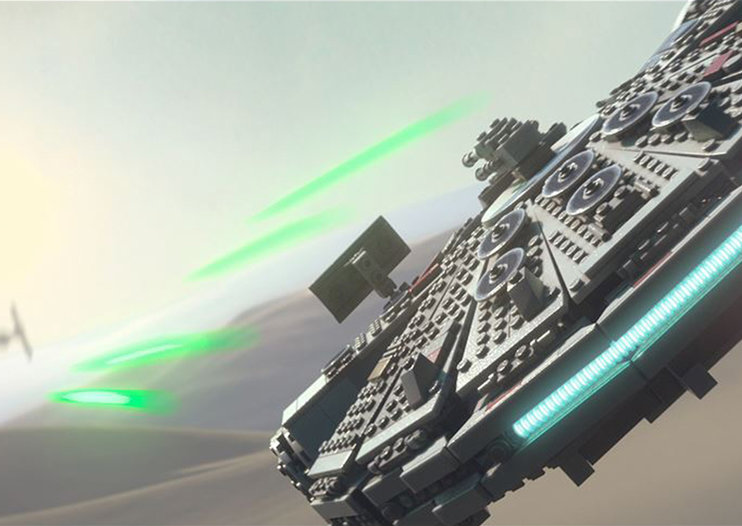 Lego Star Wars: The Force Awakens brings new story content