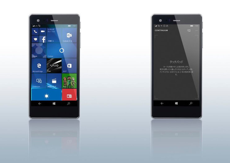 Vaio Phone Biz brings Windows 10 to the business brigade