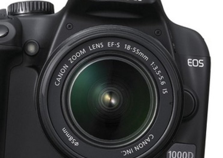 Canon EOS 1000D DSLR camera