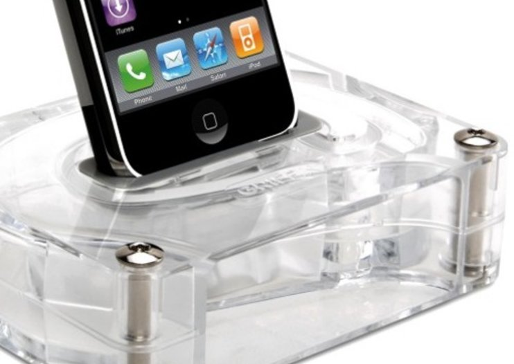 Griffin AirCurve iPhone speaker