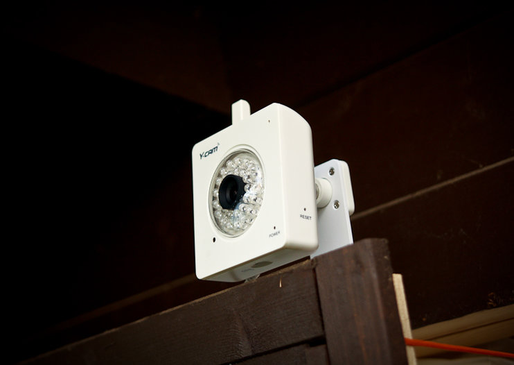 Y-Cam Knight SD wireless security camera
