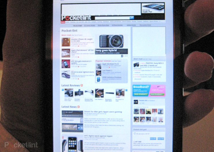 First Look: Sprint HTC Evo