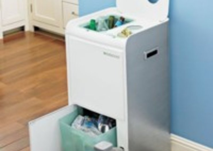 Storage comes small for recycling