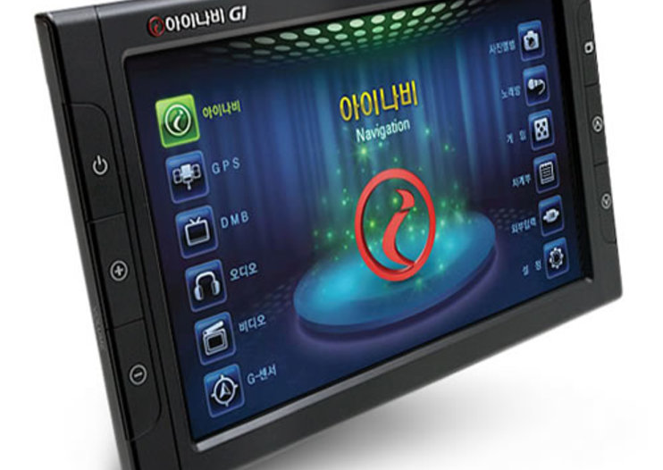 Korean iNavi G1 combines GPS with Karaoke