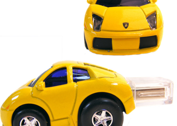 Lamborghini flash drives launch