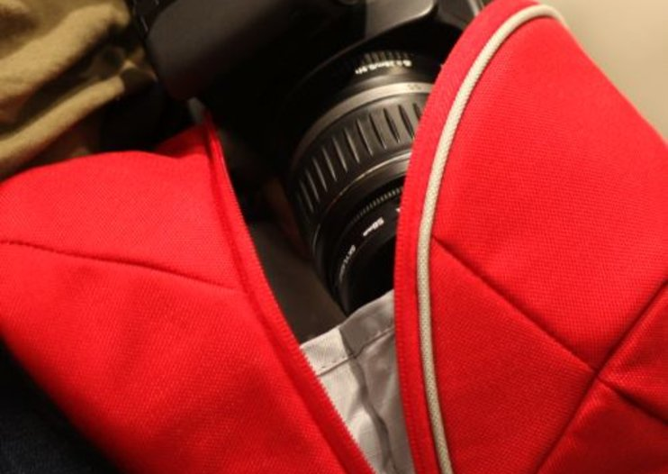 "Crumpler launches SLR ""codpiece"" camera bag"