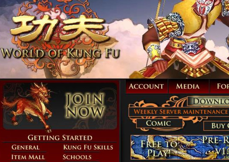 World of Kung Fu to launch August 1st