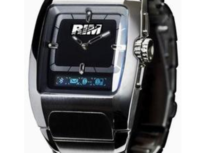 RIM launching BlackBerry headset and wristwatch
