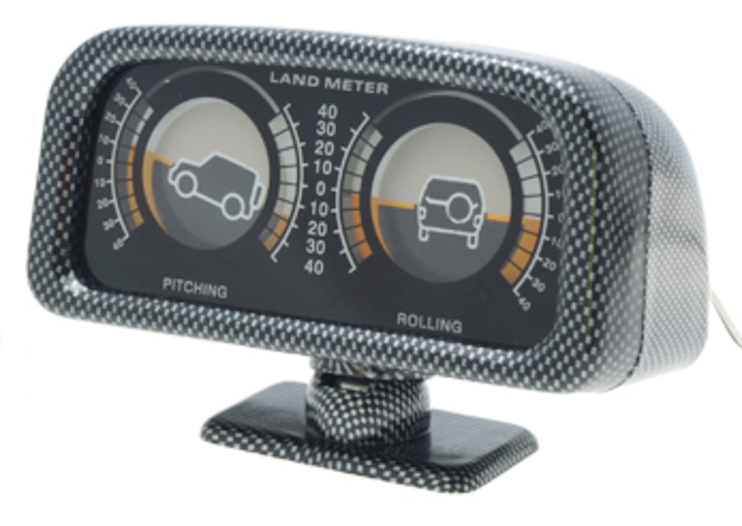 Dashboard inclinometer unveiled