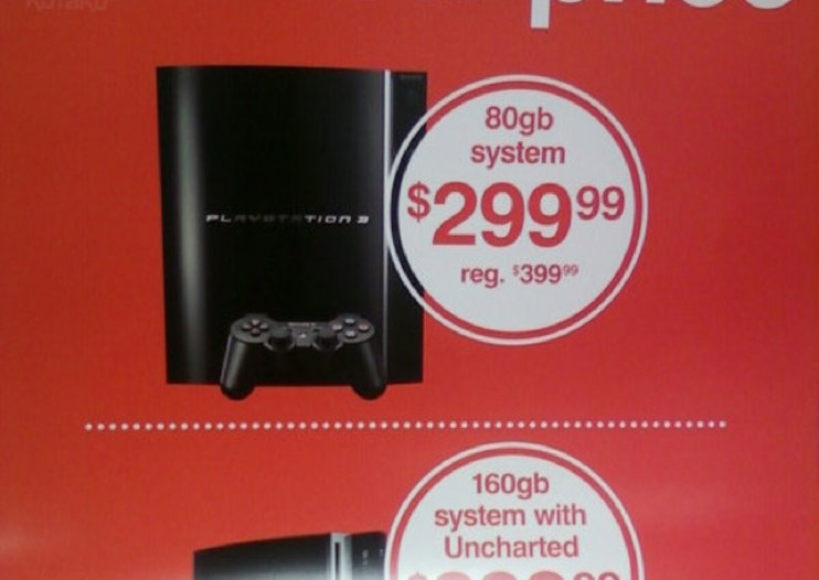 Sony to drop US prices, Kmart lists PS3 for pre-order