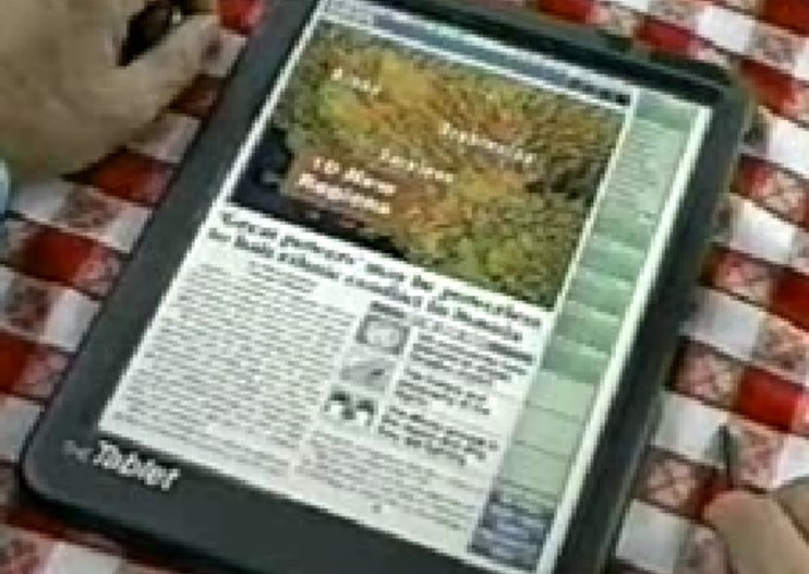 VIDEO: Kindle, Apple tablet predicted in 1994
