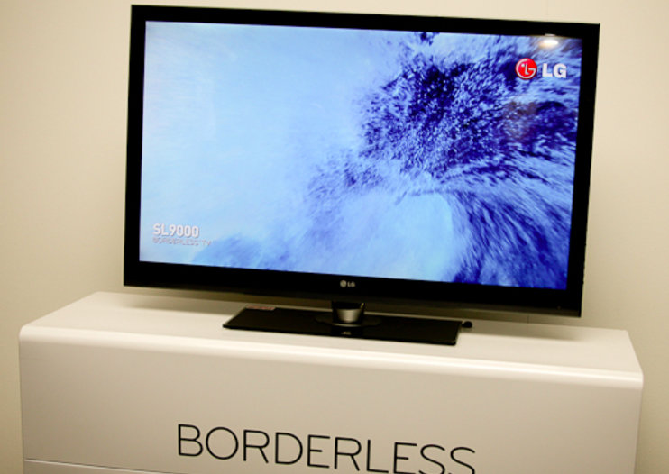 "LG intros ""Borderless"" LED TVs"