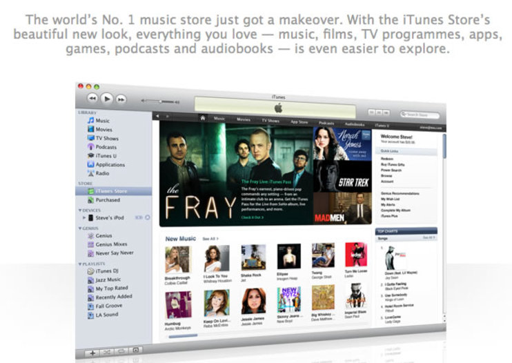 Apple iTunes 9 announced