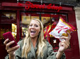 Tweet Shop opens in central London... Free snacks for Twitter posts. Twitter, London, Social networking 3