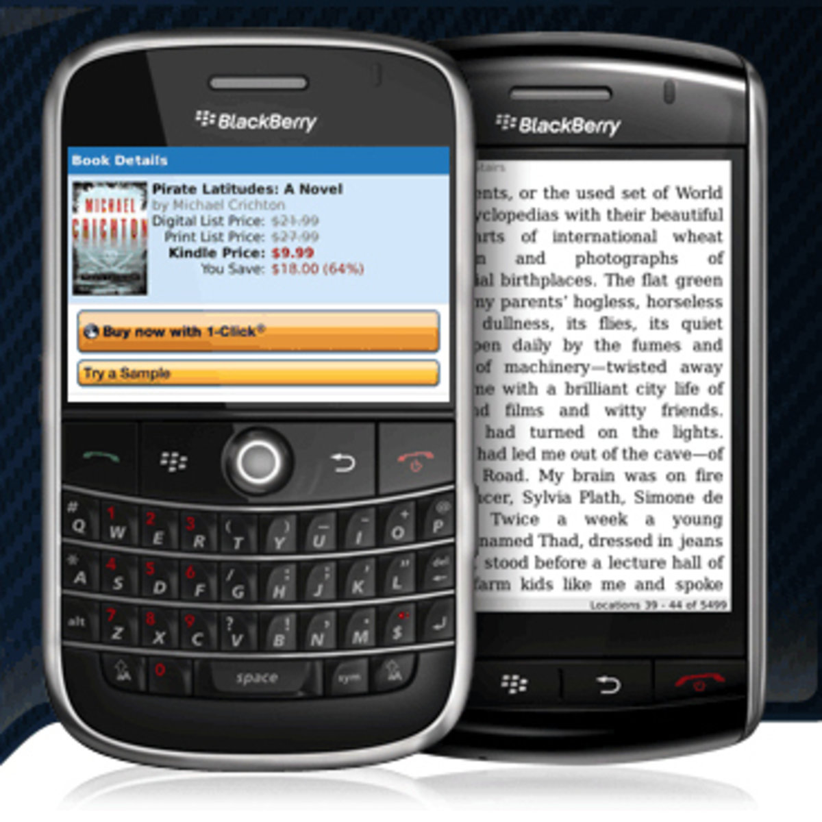 Amazon launches Kindle app for BlackBerry