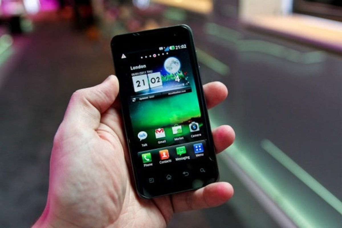 LG Optimus Android Gingerbread update lands