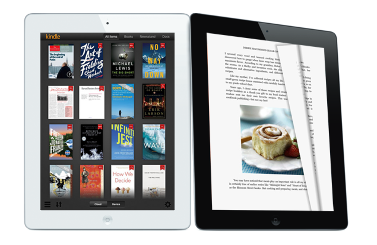 Kindle app gets fresh new look, new high-res graphics for new i