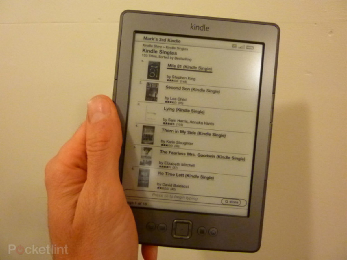 Amazon Kindle Price Drop: Now Just $69 In The Usa, Shipping 14 September   Pocketlint