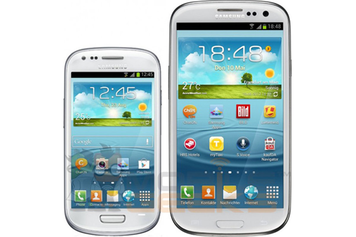 Samsung Galaxy S3 Mini coming to UK, press pictures and specs leak -  Pocket-lint