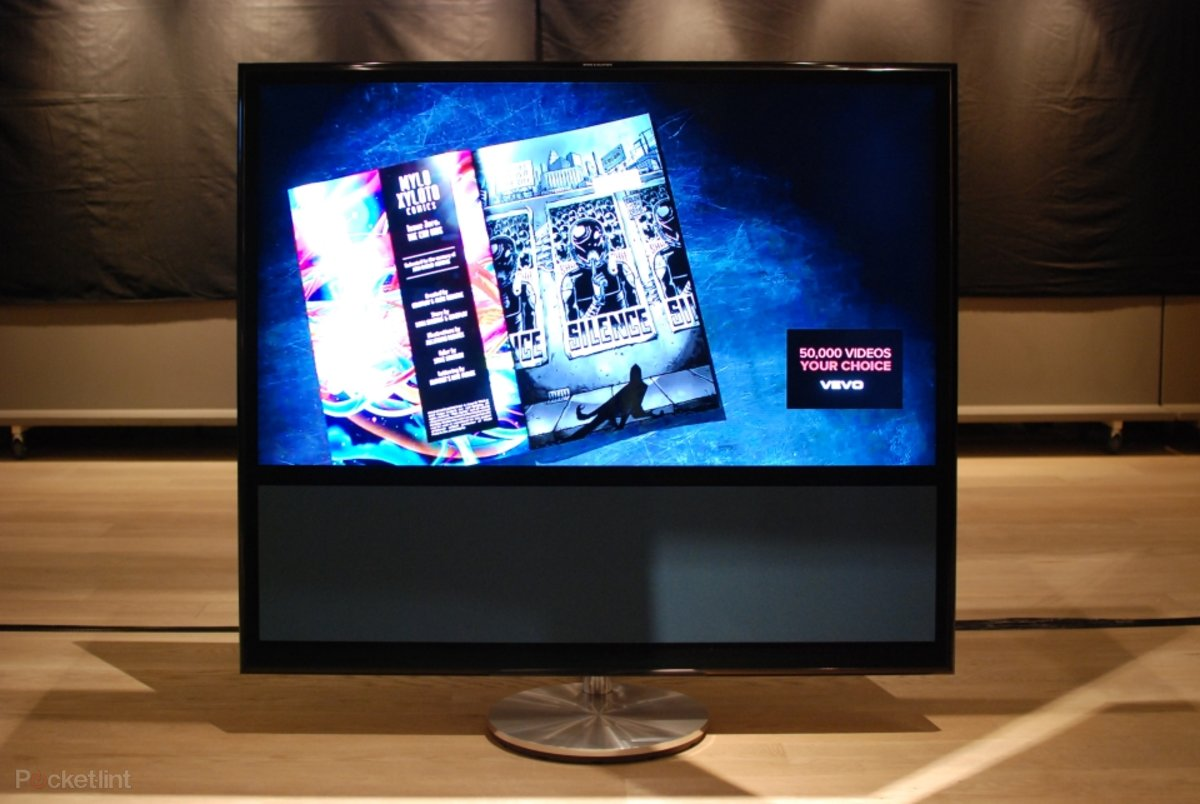 Bang And Olufsen Beovision 11 bang & olufsen beovision 11 television pictures and hands-on -