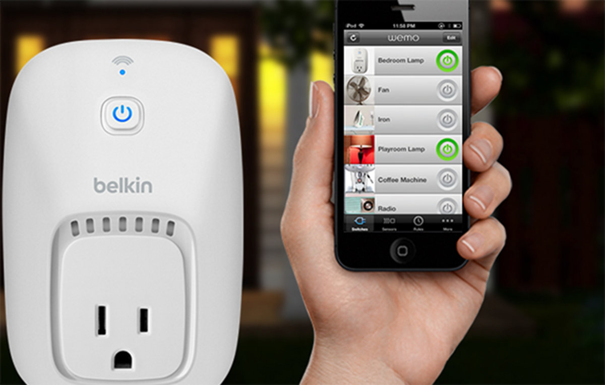 Belkin adds Android compatibility to WeMo wireless light switch -  Pocket-lint