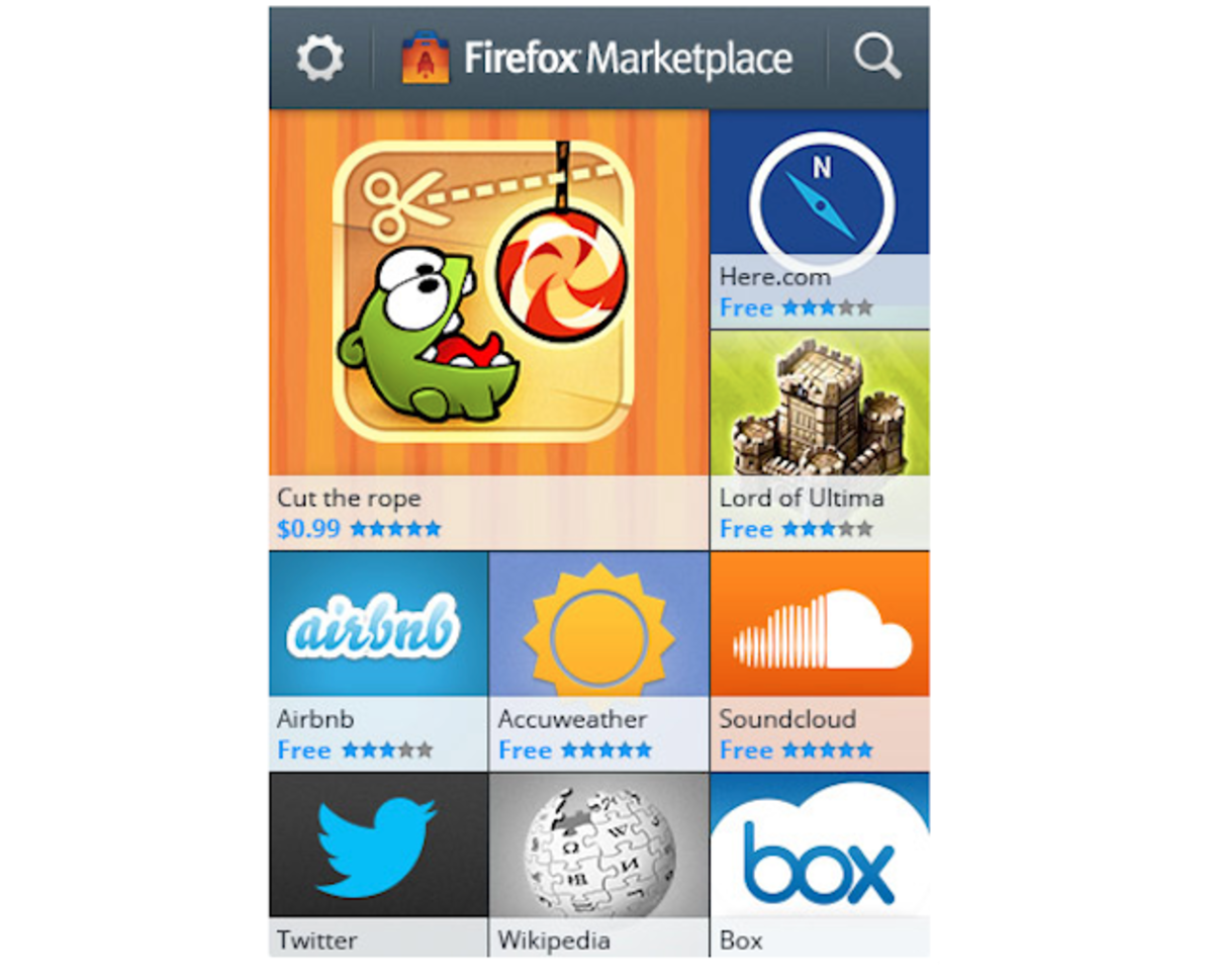 Mozilla announces Firefox app Marketplace for Firefox OS with c
