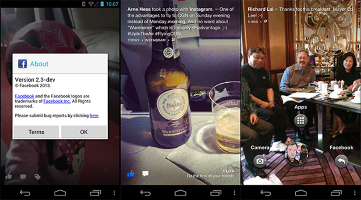Facebook Home Android beta leaks ahead of official release, rea
