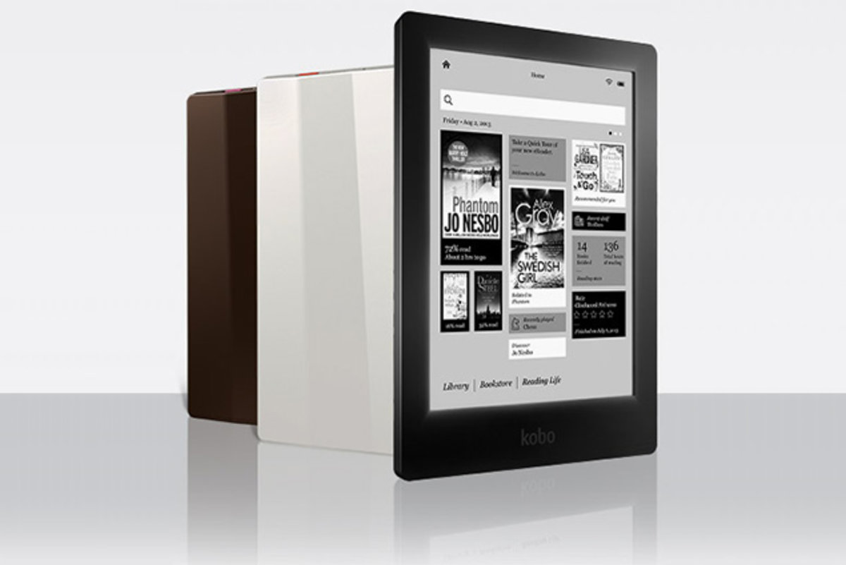 Kobo Aura HD has high-resolution 265ppi E Ink display for the d