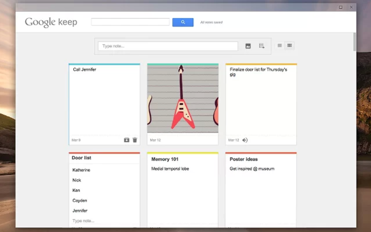 Google launches Google Keep app for Chrome, offers offline acce