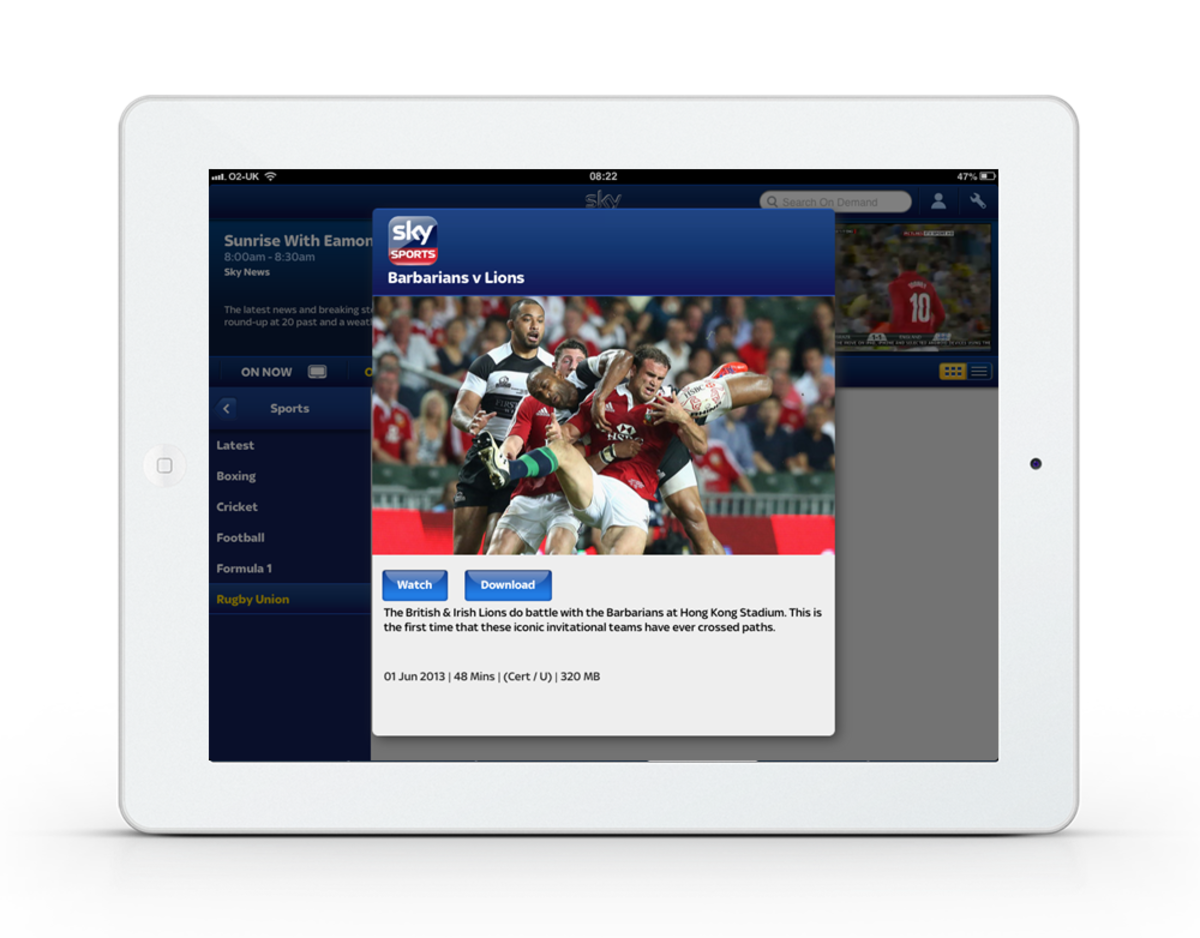 Sky Sports Highlights added to Sky Go iPhone, iPad and Android