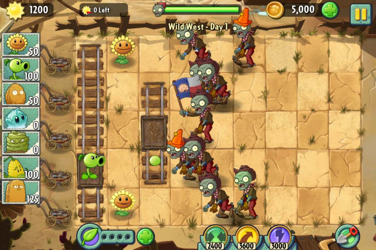 Plants vs Zombies 2 review