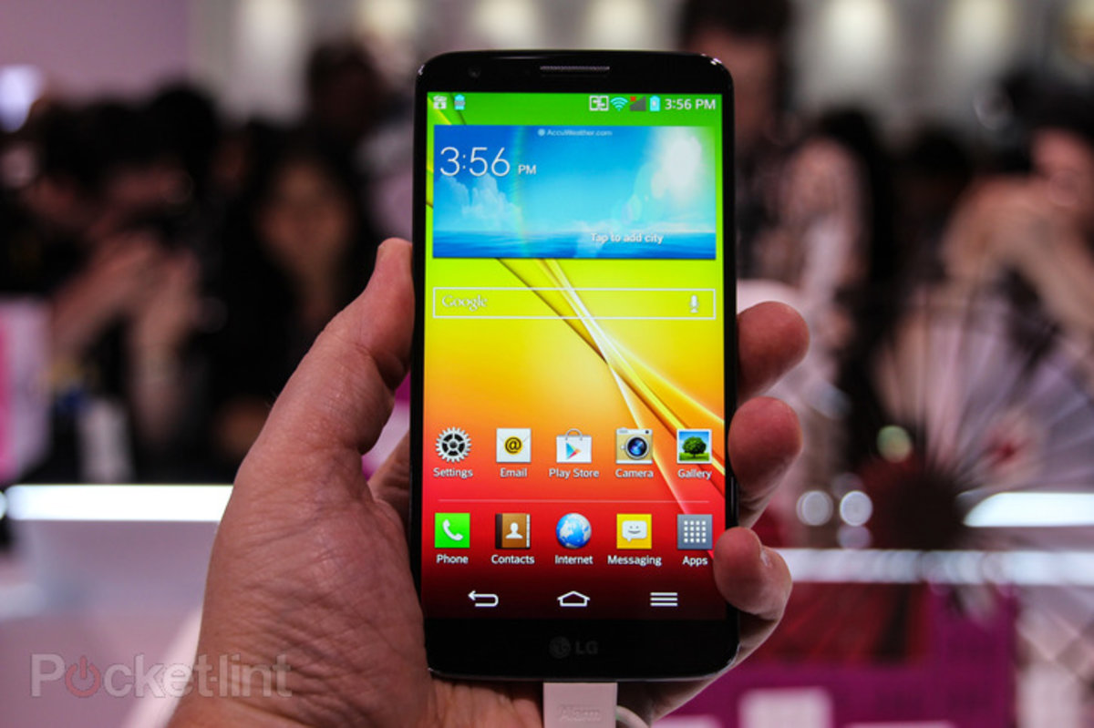European version of the LG G2 will have wireless charging throu